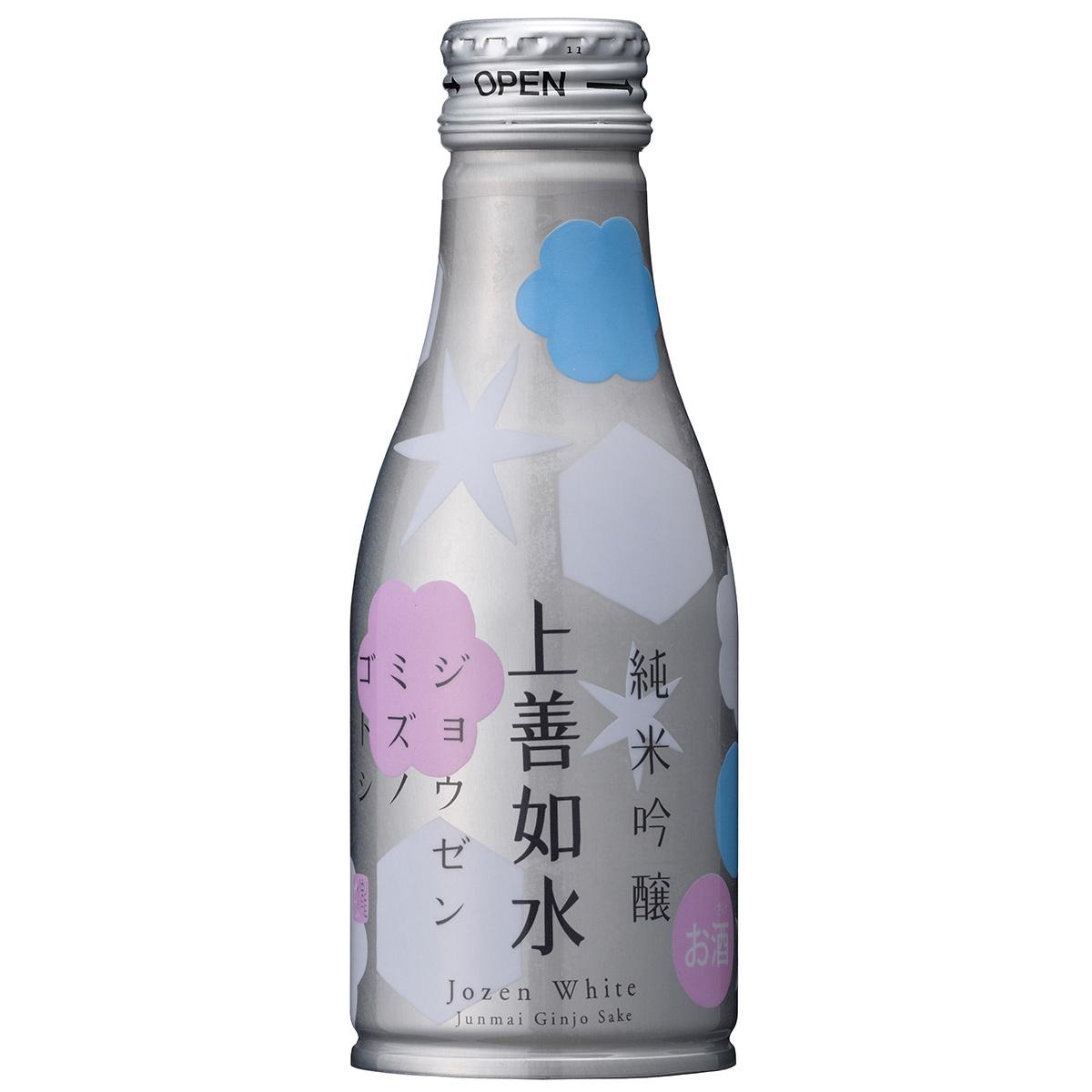 上善如水 純米吟醸 ボトル缶 180ml