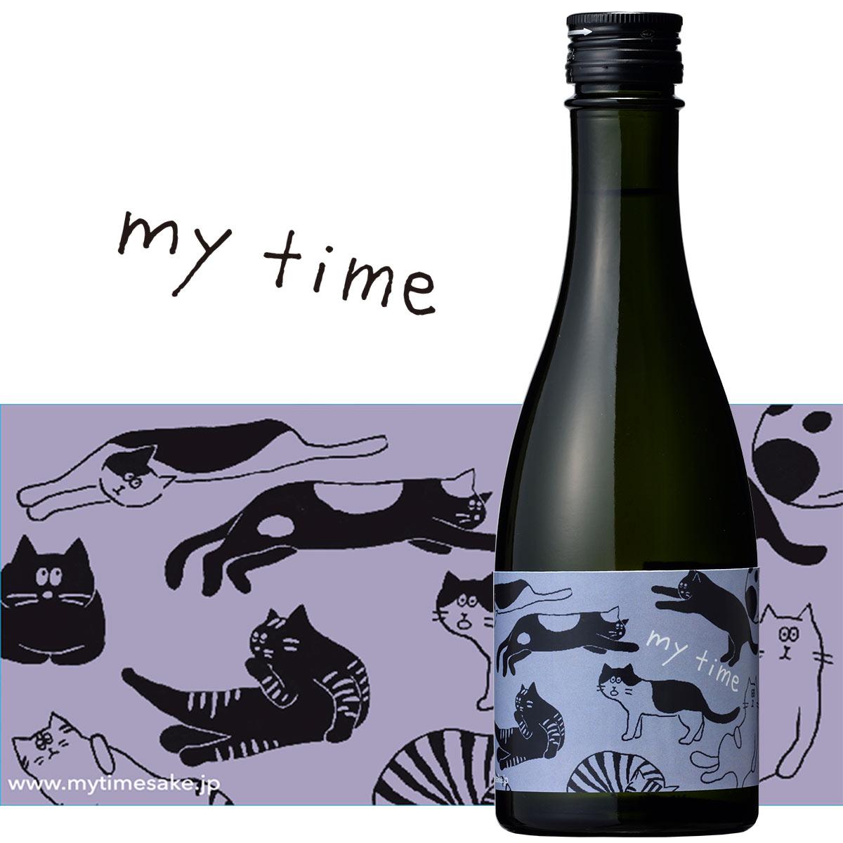 純米吟醸 マイタイム cat 300ml