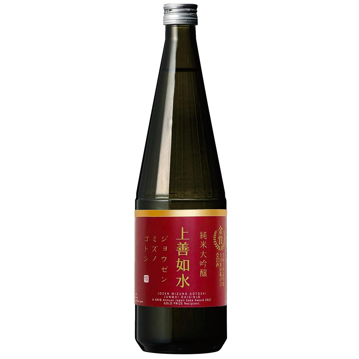 【限定酒】 上善如水 純米大吟醸 金賞受賞酒 720ml