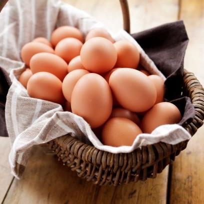 平飼い農家の庭先卵30個