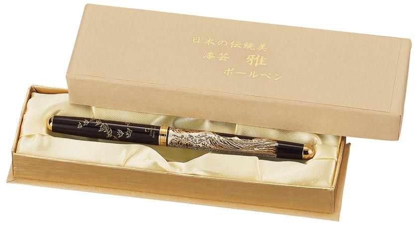 漆芸 ハイグレードボールペン 桜富士