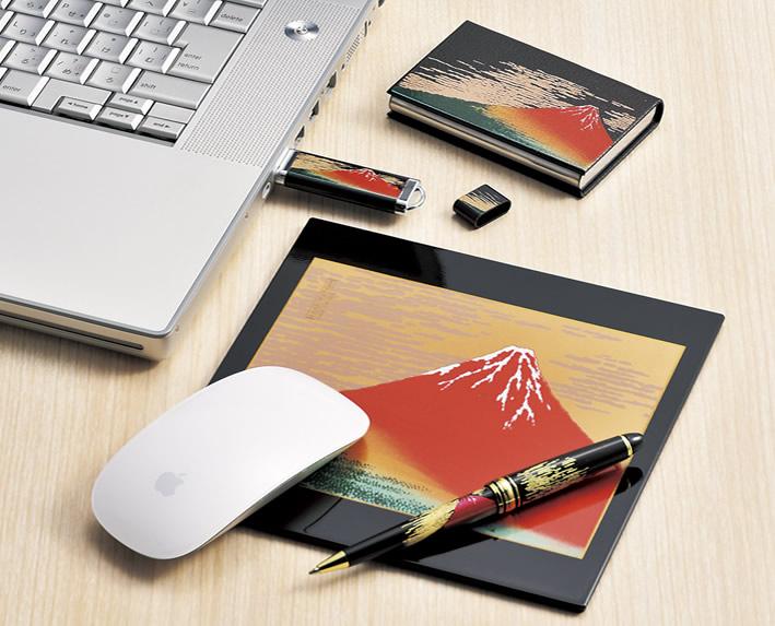 漆芸USBメモリー 波 4GB