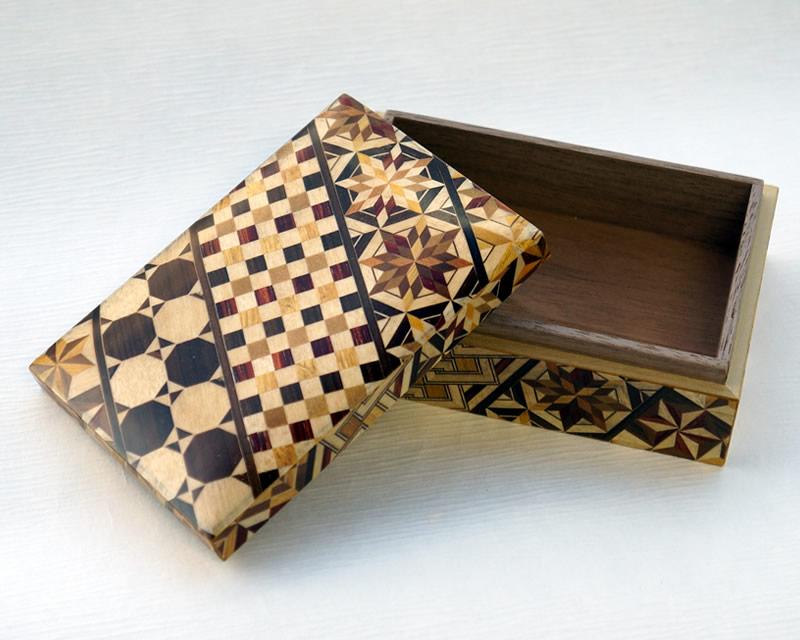 箱根寄木細工 小箱