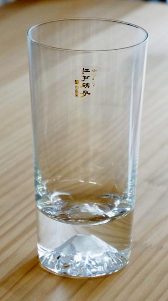 江戸硝子 富士山タンブラーグラス (田島硝子製)
