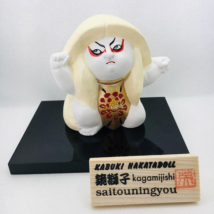KABUKI HAKATADOLLシリーズ 鏡獅子(白)