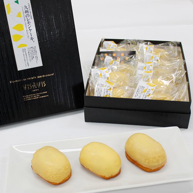 VISAVIS(ヴィザヴィ) 九州のレモンケーキ10個入