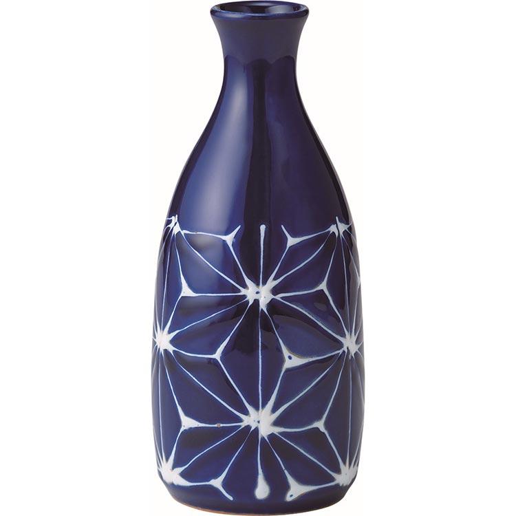 翔芳窯 琉璃 徳利 麻の葉 波佐見焼 (西海陶器)