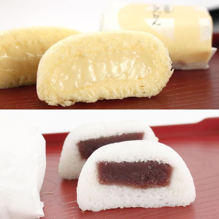 薩摩蒸気屋 かすたどん・かるかん饅頭(各4個入)