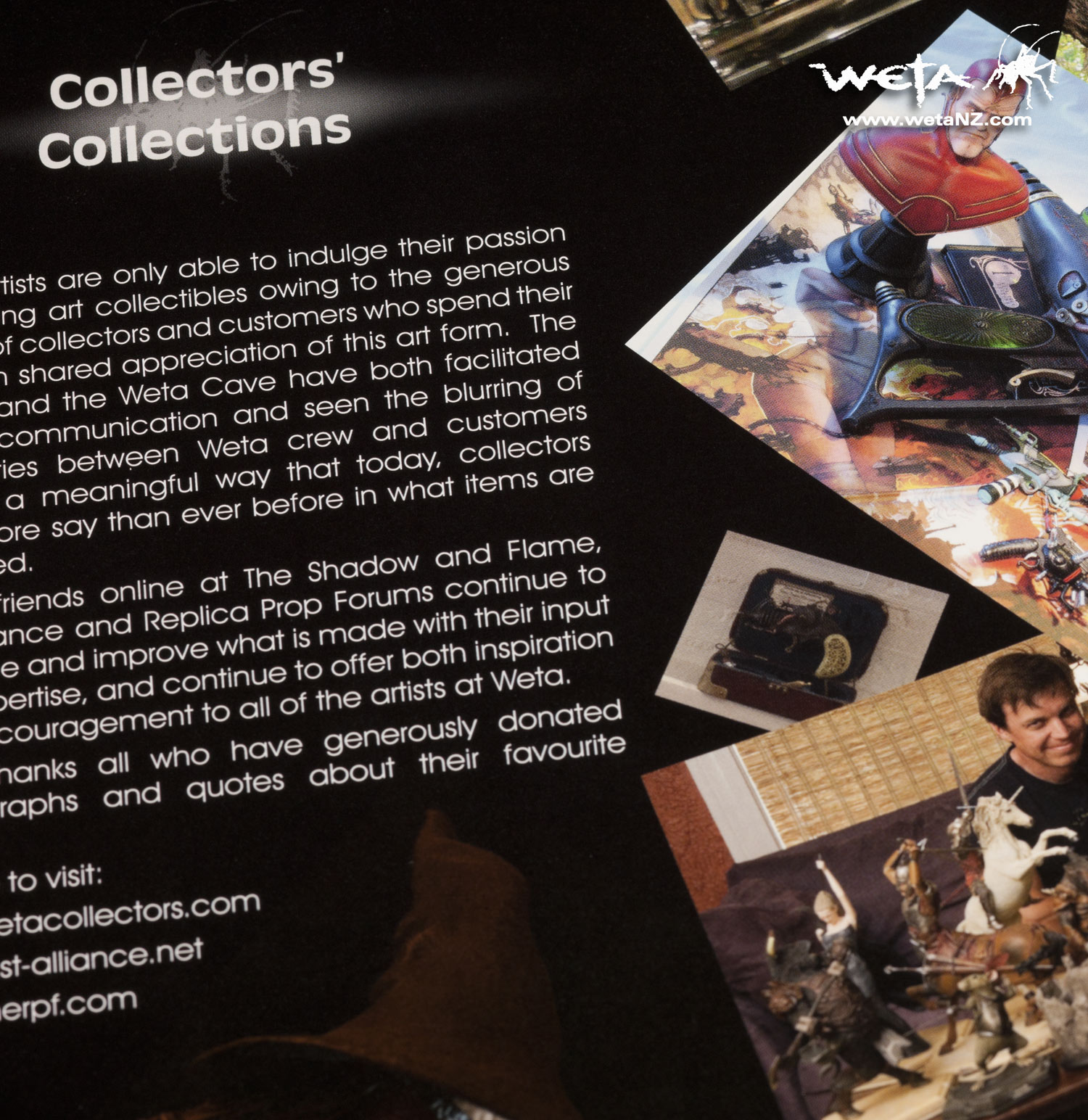 WETA : THE COLLECTOR'S GUIDE ウェタ: コレクターズガイド