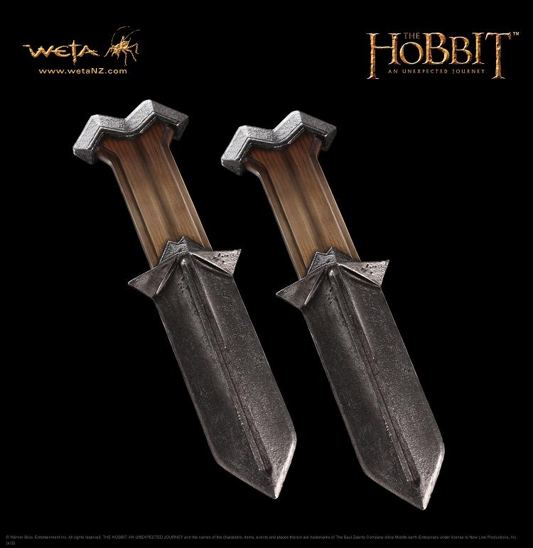 ホビット 思いがけない冒険 ドワーフ ノーリのナイフ