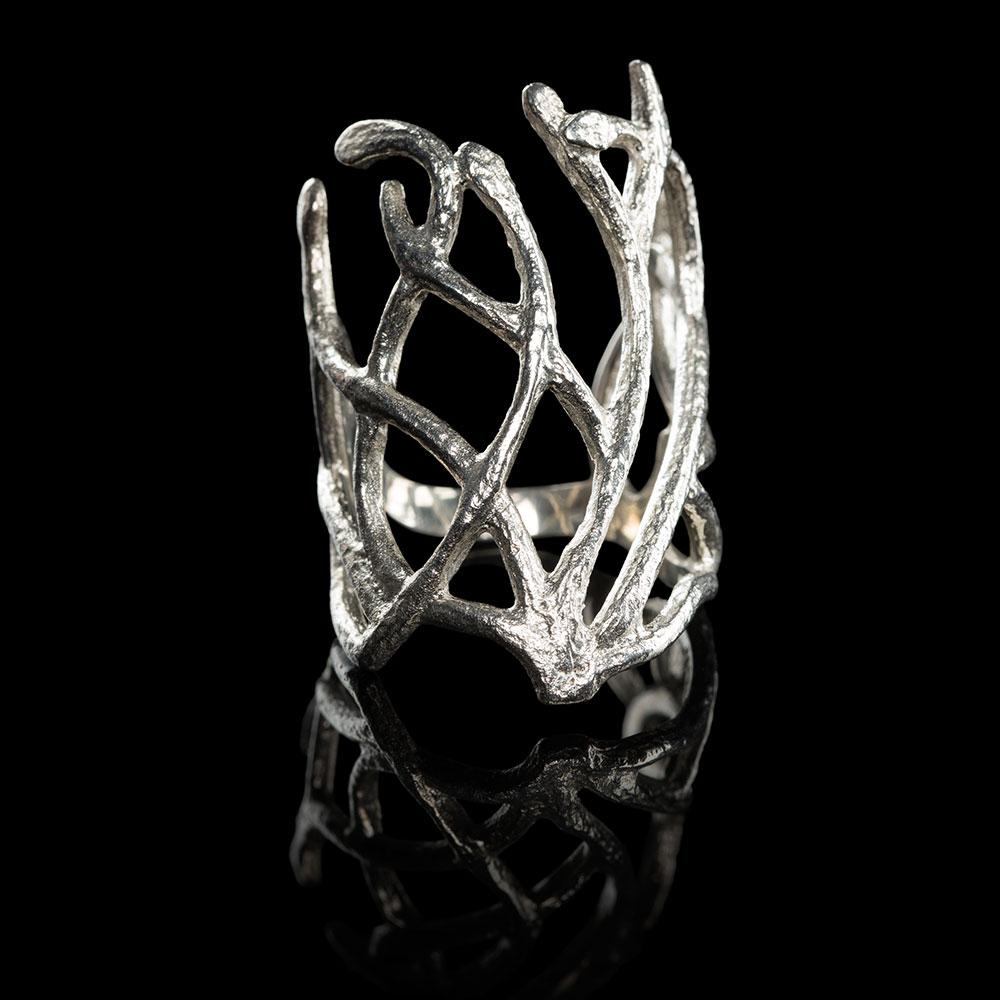 ホビット 竜に奪われた王国 闇の森のエルフ王 スランドゥイルの指輪 スターリングシルバー