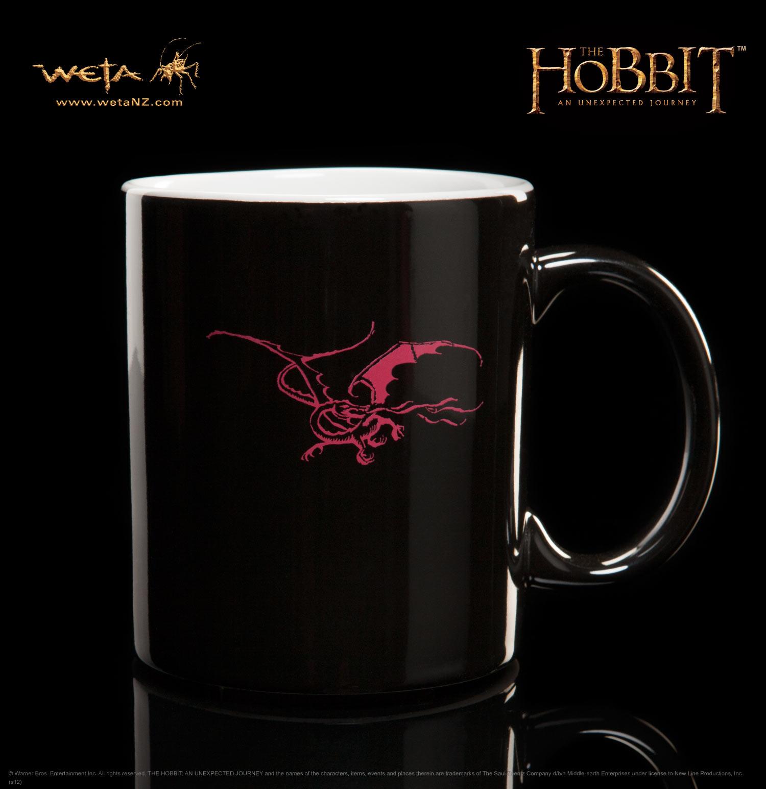 ホビット 思いがけない冒険 レッドドラゴンのマグカップ