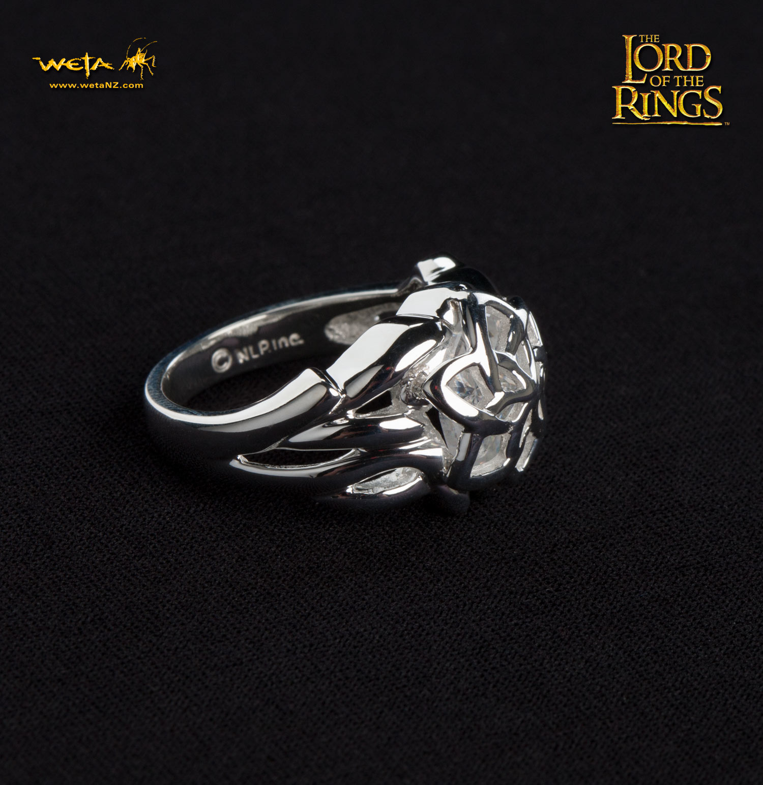 ロード・オブ・ザ・リング ネンヤ−ガラドリエルの指輪−スターリングシルバー