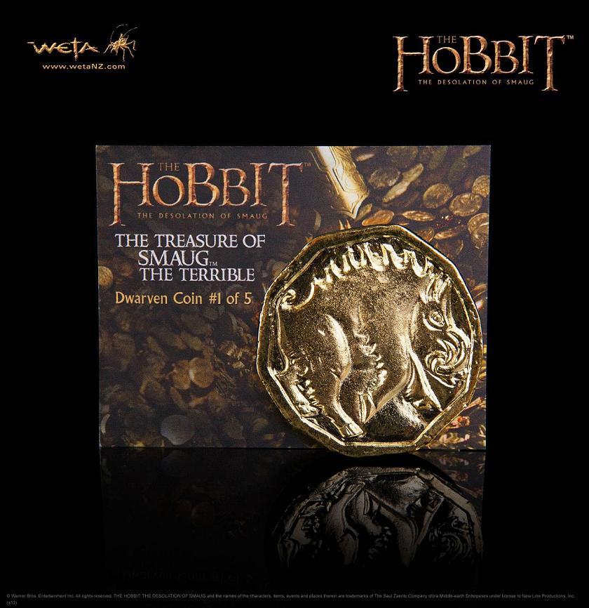 ホビット 竜に奪われた王国 スマウグの宝 コイン#1