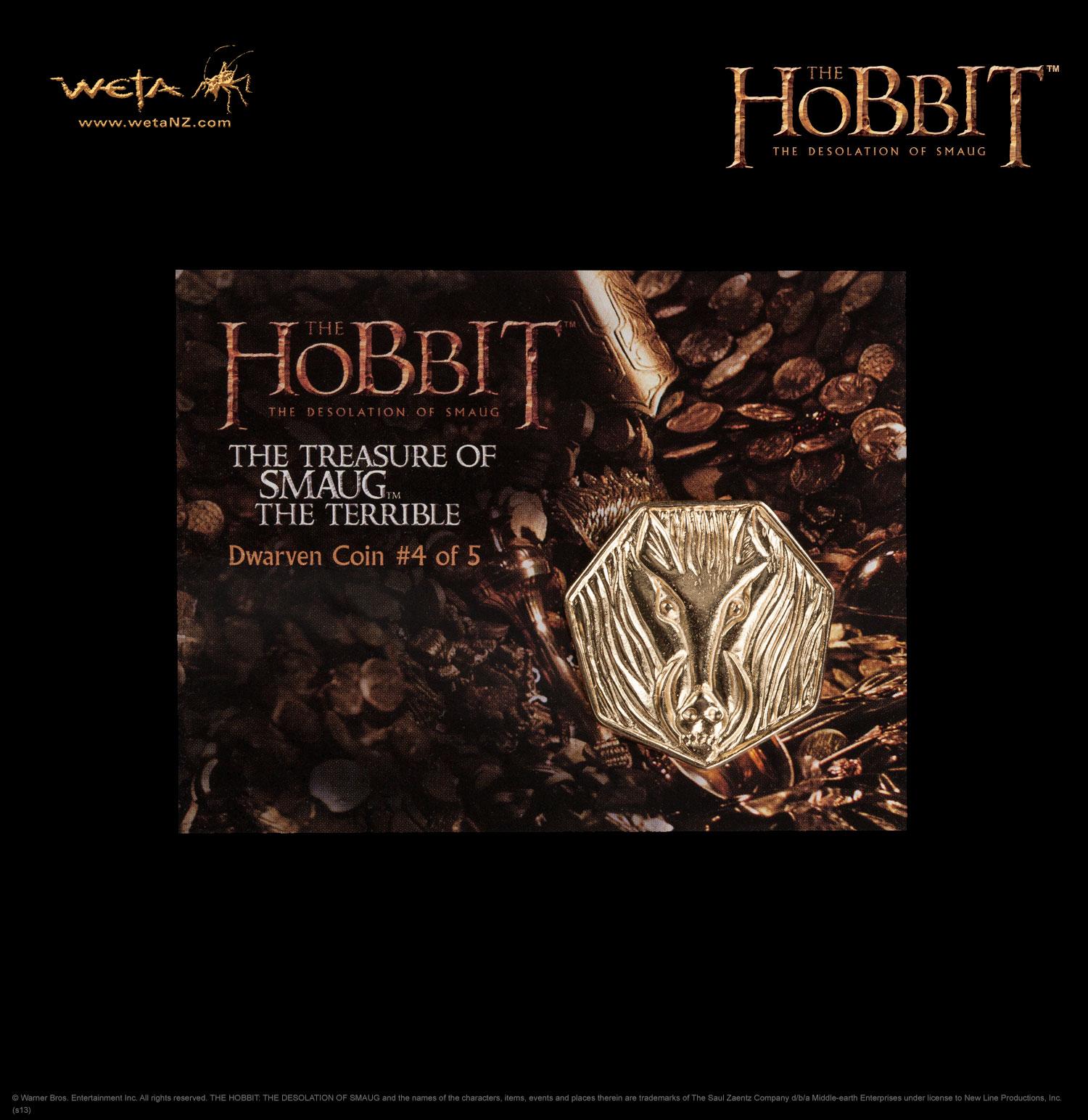 ホビット 竜に奪われた王国 スマウグの宝 コイン#4