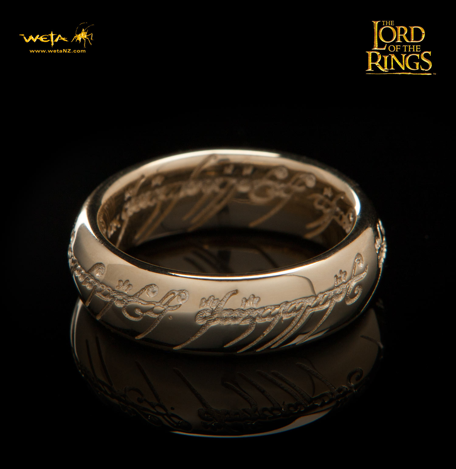 ロード・オブ・ザ・リング ひとつの指輪 10K純金(文字刻印あり)