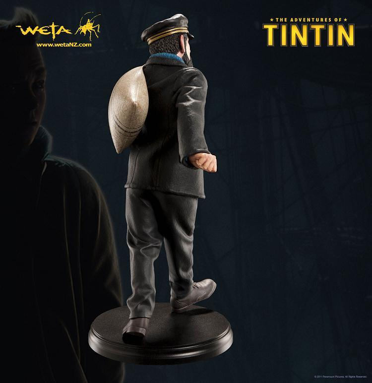タンタンの冒険 ハドック船長 フィギュア スタチュー 【THE ADVENTURES OF TINTIN : CAPTAIN HADDOCK】