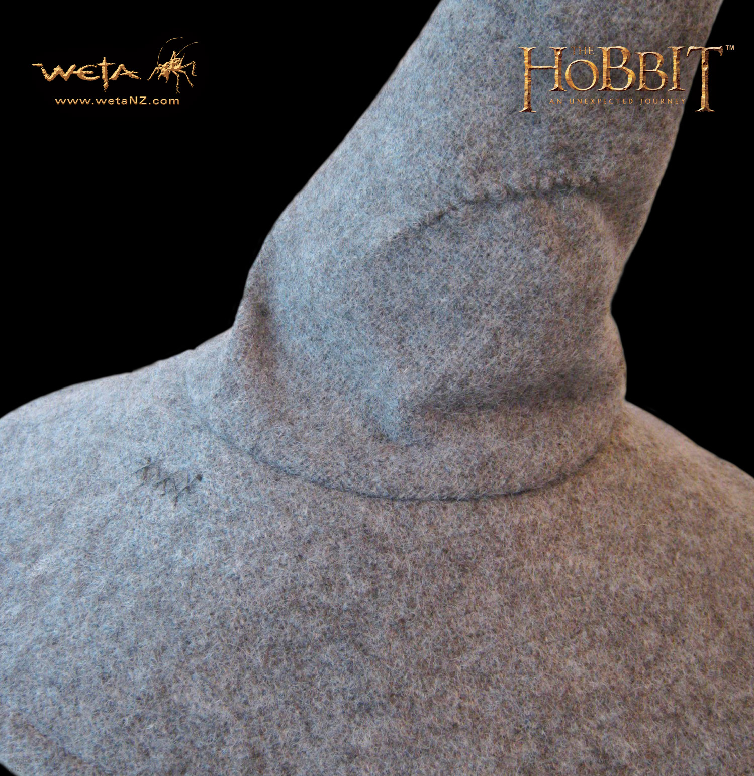 ホビット 思いがけない冒険 灰色のガンダルフの帽子