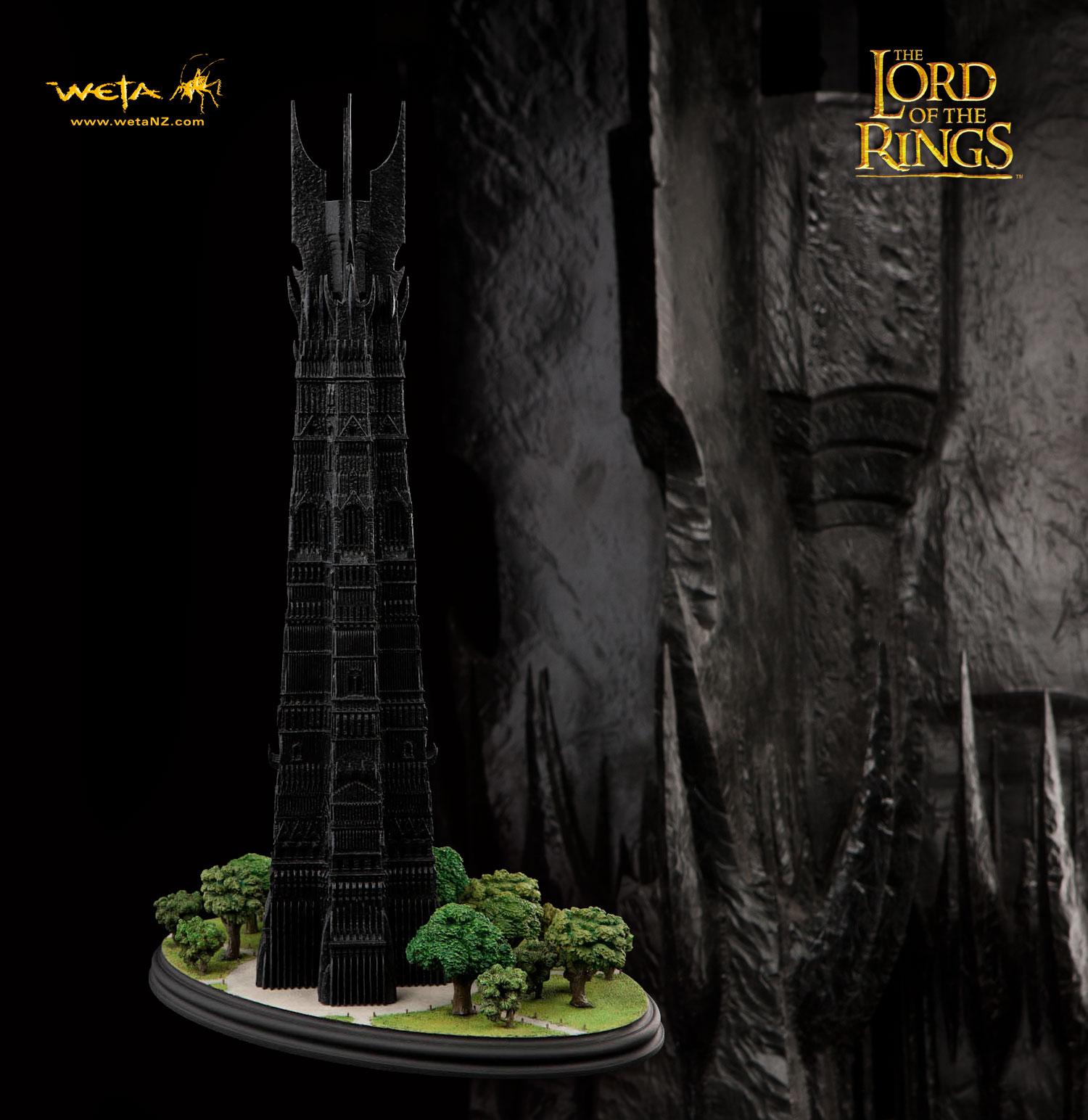 ロード・オブ・ザ・リング オルサンク−アイゼンガルドの黒い塔 ジオラマ