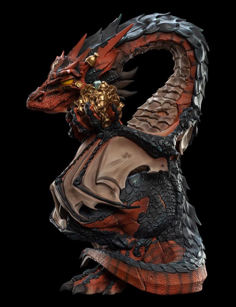 ホビット:竜に奪われた王国:スマウグ ビニール ミニ フィギュア