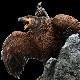 ロード・オブ・ザ・リング グワイヒア (鷲の王)とガンダルフ フィギュアー スタチュー GANDALF ON GWAIHIR