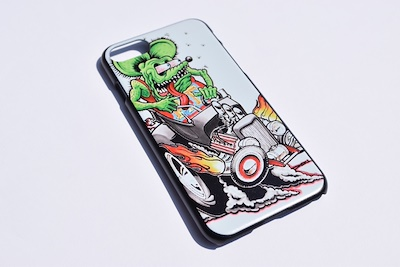 ラットフィンク Ratfink  iPhone ケース  【 iPhone6 / iPhone6s iPhone6plus / iPhone6plus iPhone7 / iPhone8 iPhone7plus / iPhone8plus iPhoneX / iPhoneXS iPhoneXS MAX iPhoneXR 】