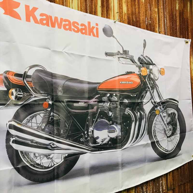 KAWASAKI カワサキ Z1 バナー フラッグ BB39