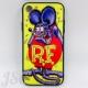 ラットフィンク iPhone7 iPhone8 iPhoeX iPhoneXS iPhoneXRケース 強化ガラス iPhoneケース USDM JDM ハーレー モンスター アメリカン雑貨 ムーンアイズUSA JSC88