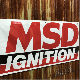 MSD イグニッション 特大 ビニール フォード シボレー 看板 バナー ムーンアイズ ハーレー 雑貨 ガレージ 世田谷 ホットロッド トラック