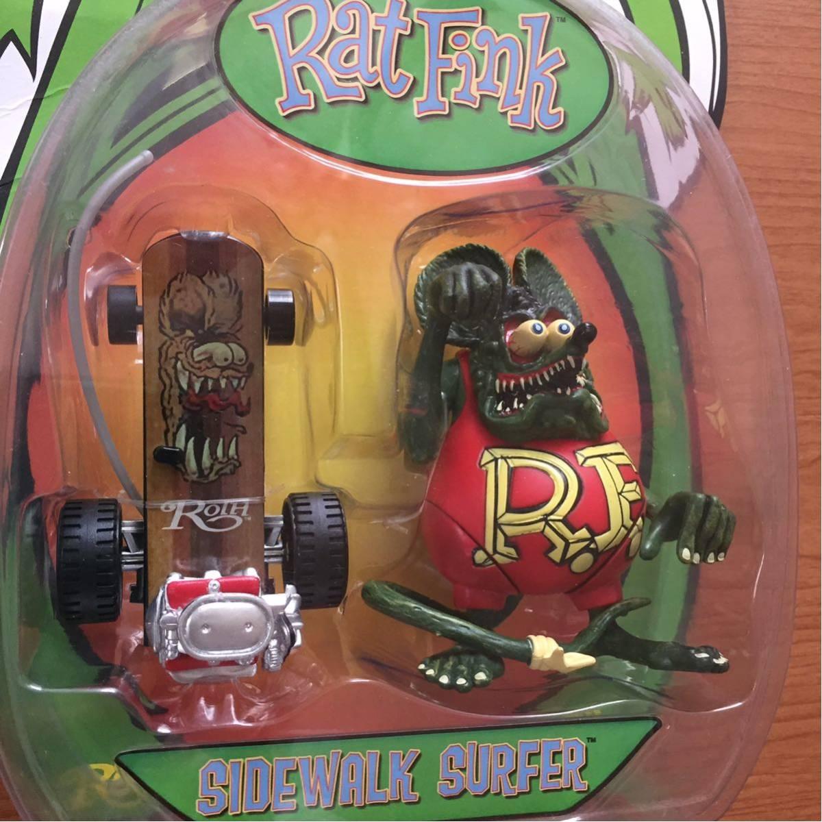 ラットフィンク Ratfink フィギュア アメリカ ハワイ トラック USDM ムーンアイズ チョッパー ハーレー カスタム ホットロッド 世田谷