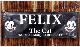 フィリックス FELIX フラッグ インパラ ローライダー ホットロッドベルエア 所ジョージ 世田谷 ムーンアイズ ガレージ アメリカン雑貨