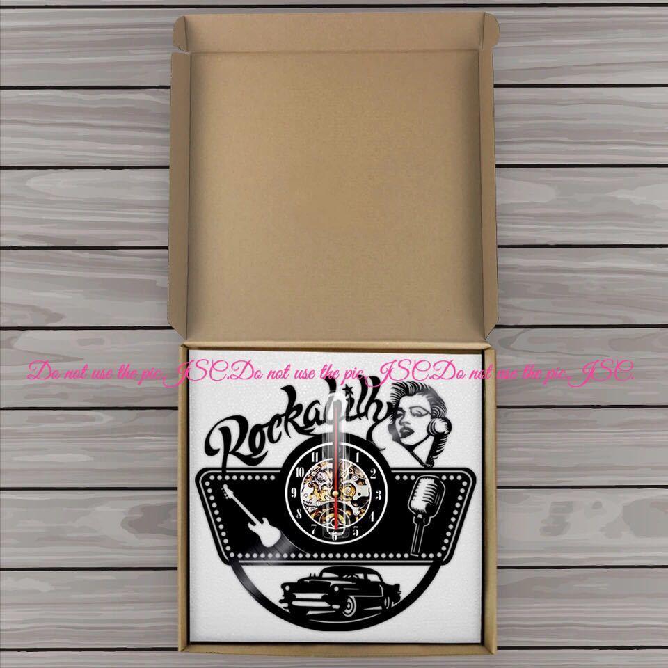 マリリン モンローレコード 壁掛け 時計 ロカビリー インテリア CD ミュージック 小物 雑貨 店舗 ガレージ DIY USDM JDM