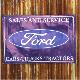 フォード 防水 バナー フラッグ マスタング ロードランナームーンアイズエルカミシェベルハーレー雑貨ガレージ世田谷ホットロッド 店舗