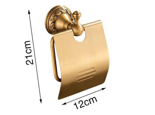 真鍮 トイレットペーパーホルダー ロカビリー ショップ 美容室 店舗ガレージUSDM JDM アメリカン雑貨 アンティーク DIY インテリア