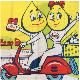 エッソ ESSO 特大フラッグ モンキー ハーレー 看板 アメ車 雑貨 ガレージ 世田谷ムーンアイズホットロッド トラック ミニクーパー ワーゲン