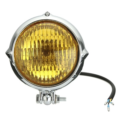 ヴィンテージ ヘッドライト 汎用品 外装 CBX モンキー ズーマー ドラスタ ドラッグスターロードキング 650 XS 250 チョッパー ハーレー ボバー 883 エリミネーター アメリカン