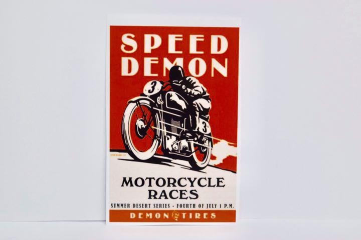 バイク ステッカー アメリカ ハーレー レース ショベル パンヘッド ナックル