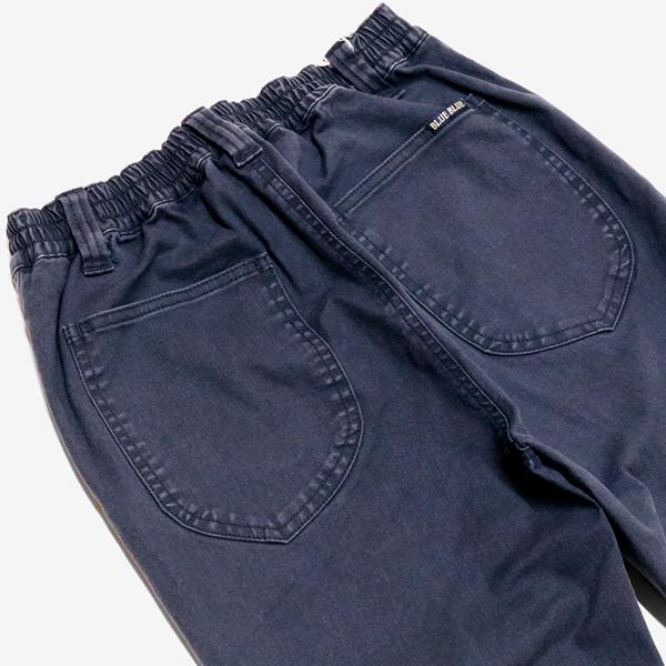 ブルーブルー/BLUE BLUE ネイビーユーティリティージョガーパンツ ストレッチイージーパンツ 700087050 メンズ レディース