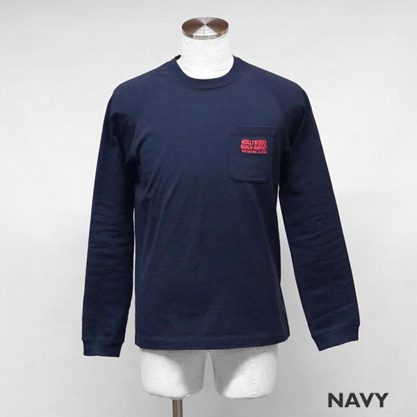 ハリウッドランチマーケット/HOLLYWOOD RANCH MARKET HRMオールドタイム長袖Tシャツ H.R.MARKET OLD TIME LONG SLEEVE 700085311 メンズ レディース