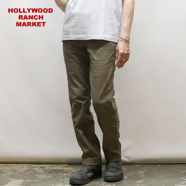 ハリウッドランチマーケット/HOLLYWOOD RANCH MARKET Gクロス ストレッチ トラウザースパンツ チノパン メンズ 063002612