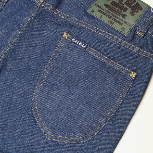 ブルーブルー/BLUE BLUE ストレッチデニムスリムイージーパンツ デニムパンツ ジーンズ STRETCH DENIM SLIM EASY PANTS 700085230 メンズ