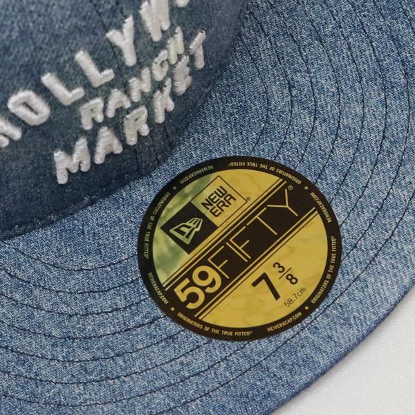 ハリウッドランチマーケット×ニューエラ/HOLLYWOOD RANCH MARKET×NEWERA デニムベースボールキャップ DENIM BASEBALL CAP 700083625 メンズ レディース
