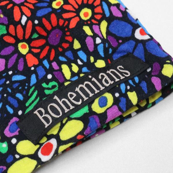 【10%OFF】ボヘミアンズ/BOHEMIANS モザイクフラワーワッチキャップ 帽子 花柄 MOSAIC FLOWER WATCH CAP BH09 メンズ レディース【メール便可能】