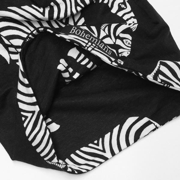 【10%OFF】ボヘミアンズ/BOHEMIANS ラブゼブラワッチキャップ 帽子 シマウマ LOVE ZEBRA WATCH CAP BH09 メンズ レディース【メール便可能】