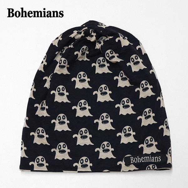 【10%OFF】ボヘミアンズ/BOHEMIANS ボギースターワッチキャップ 帽子 オバケ BOGEY STAR WATCH CAP BH09 メンズ レディース【メール便可能】