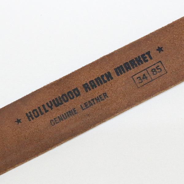 ハリウッドランチマーケット/HOLLYWOOD RANCH MARKET ギャリソンベルト レザーベルト GARRISON BELT 077592514 メンズ レディース