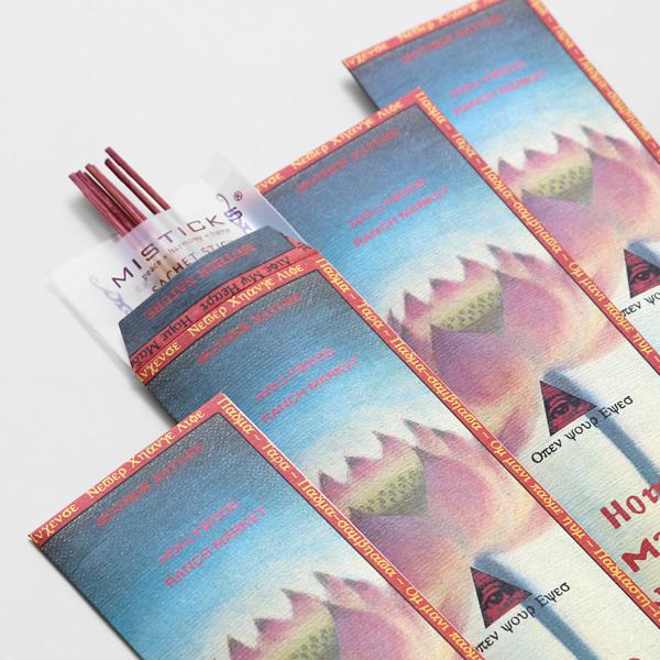 【10/1再入荷】ハリウッドランチマーケット/HOLLYWOOD RANCH MARKET ホームメイドインセンス インセンススティック お香 線香 HOME MADE INCENSE ミスティックス/MISTICKS【メール便可能】