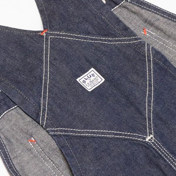 ブルーブルー/BLUE BLUE デニムオーバーオール 700086510 メンズ レディース