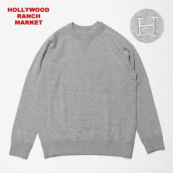 ハリウッドランチマーケット/HOLLYWOOD RANCH MARKET スーパーストレッチクルーネックスウェット トレーナー ハリラン 700087120 メンズ レディース
