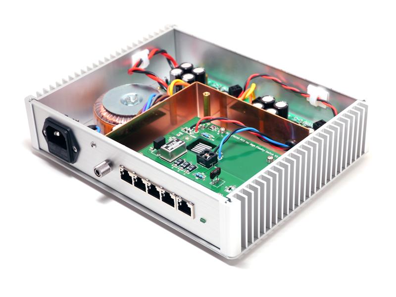 オーディオ用スイッチングハブ HFS1155